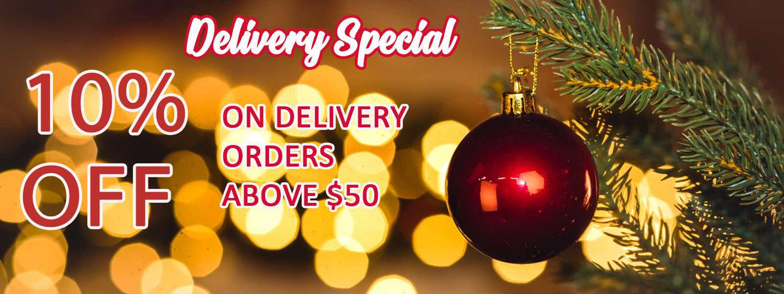Specials Holiday 10 Delivery Offer En
